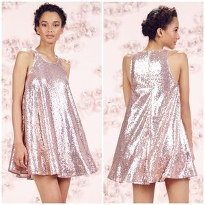 New! Lauren Conrad Runway Paillette Sequin Dress